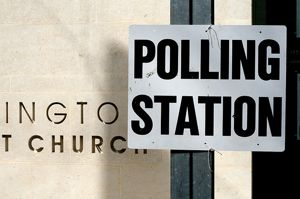 Church polling place