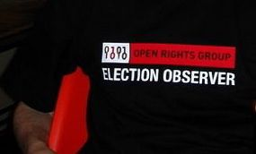Election-observer t-shirt