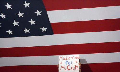 Middle class for McCain