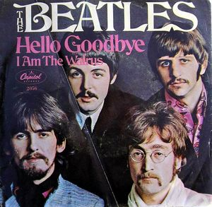 Beatles Hello Goodbye album cover
